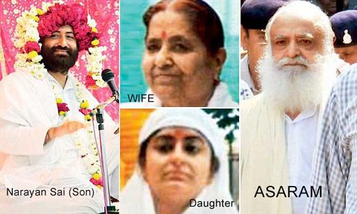 Asaram-family-tree