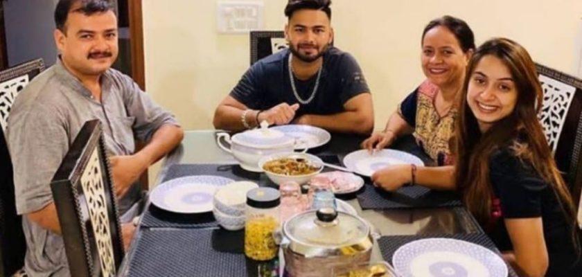 rishabh pant family tree