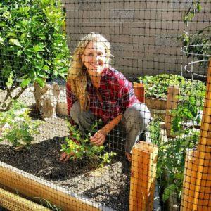 Julia Ann loves farming