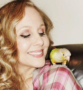 Julia-Ann-with-parrot