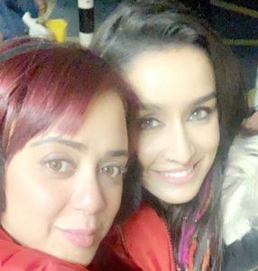 Lizelle-D'Souza-with-Shraddha-Kapoor