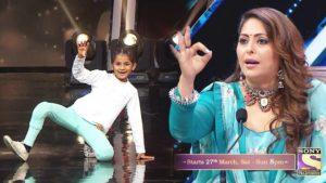 Anshika Rajput in super dancer 4