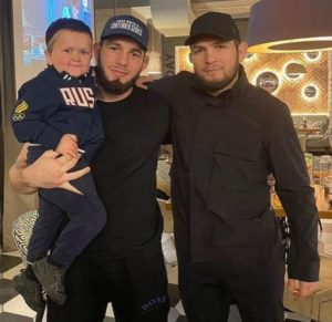 Mini_Khabib_with_Khabib_Nurmagomedov