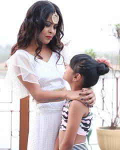 Neerja Tiwari with her dance teacher