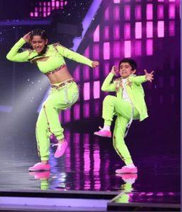 Sanchit Chanana in super dancer 4