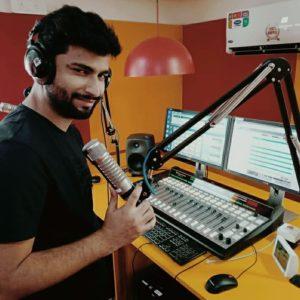 Harsh Gujral in radio mirchi