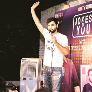 Harsh Gujral standup comedian