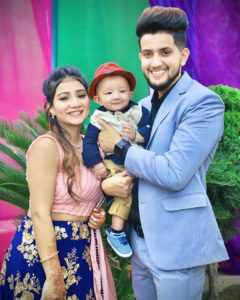 Khushi Punjaban with her family