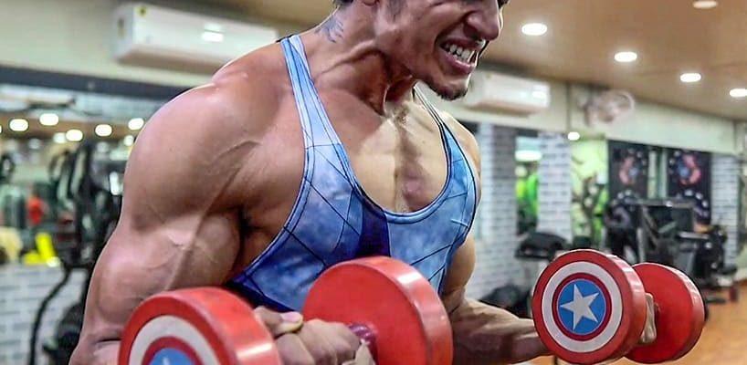 Yash Anand Gymming