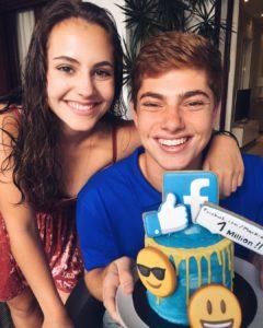 markian benhamou with his sister