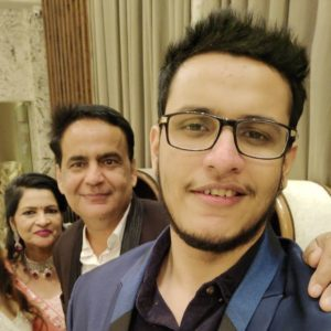 triggered insaan with his parents