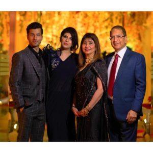 Adi Chugh with his family
