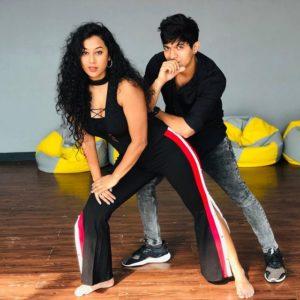 Meenal Shah dancing