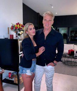 Emma Krokdal with her husband