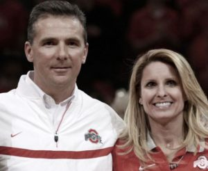 Shelley Meyer with her husband